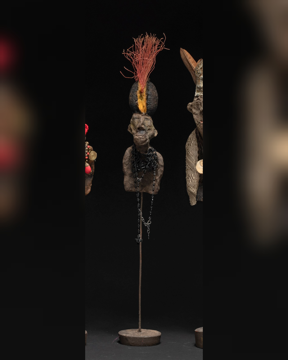 Nambia au plumeau